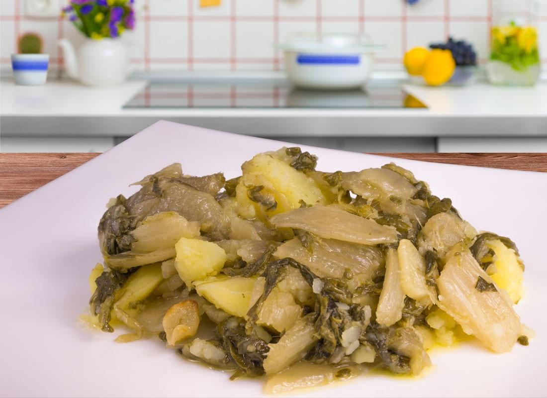 Acelgas con patatas
